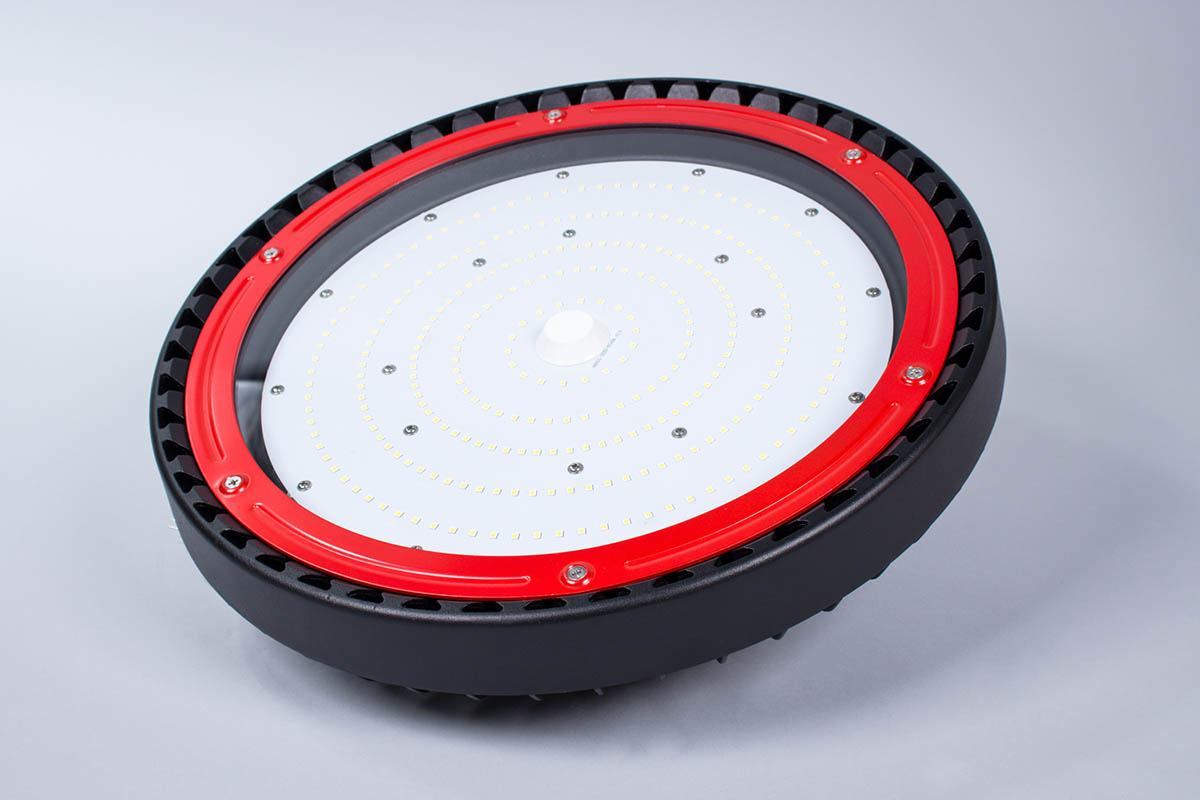 hbf200w 2 01 1 Lampy przemysłowe LED   nowoczesna seria HighBay Flat